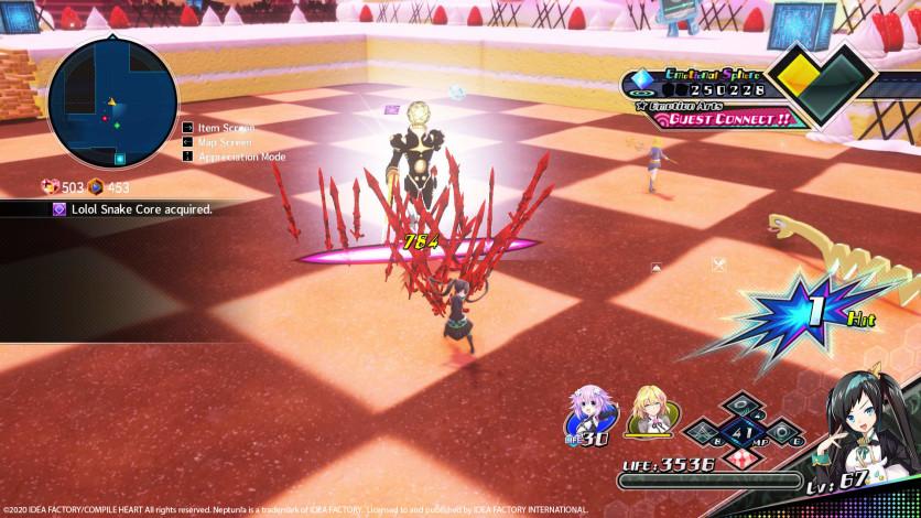 Screenshot 7 - Neptunia Virtual Stars