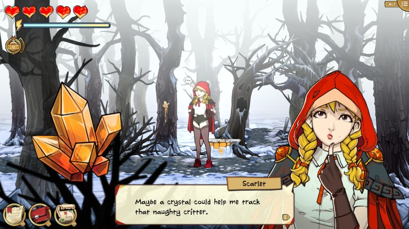 Screenshot 9 - Scarlet Hood and the Wicked Wood