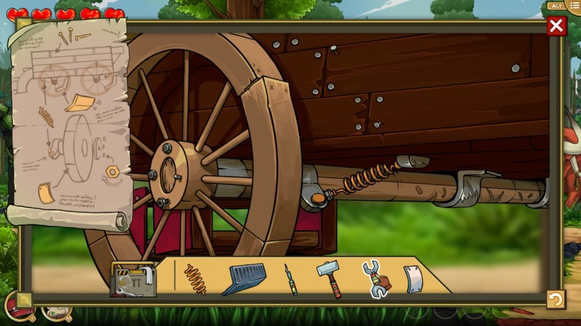 Screenshot 10 - Scarlet Hood and the Wicked Wood