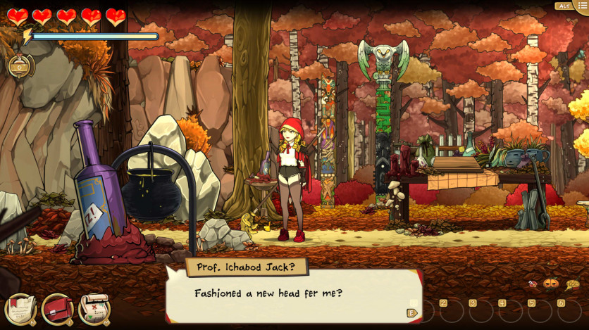 Screenshot 7 - Scarlet Hood and the Wicked Wood
