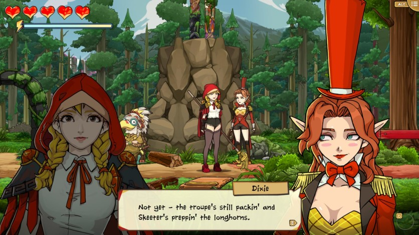 Screenshot 3 - Scarlet Hood and the Wicked Wood