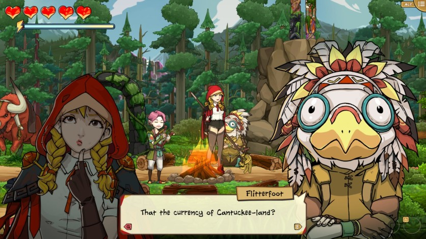 Screenshot 12 - Scarlet Hood and the Wicked Wood