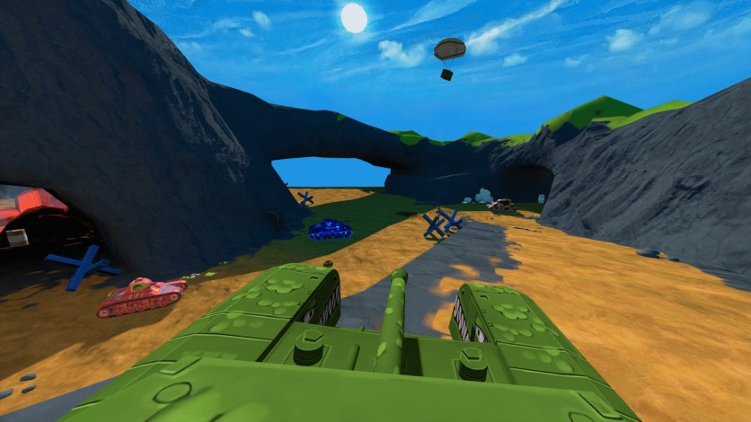 Screenshot 1 - Panzer Panic VR