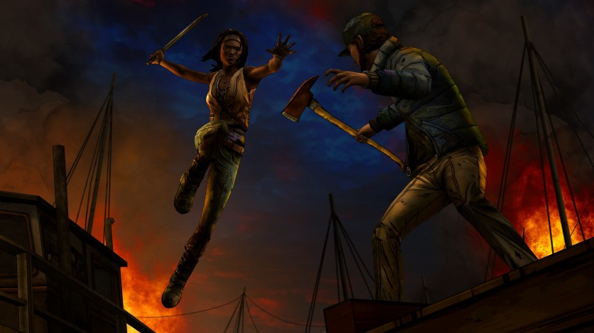 Screenshot 3 - The Walking Dead: Michonne - A Telltale Miniseries