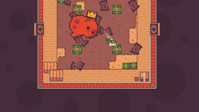 Screenshot 4 - Turnip Boy Commits Tax Evasion