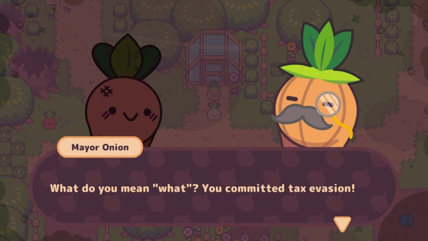 Screenshot 2 - Turnip Boy Commits Tax Evasion