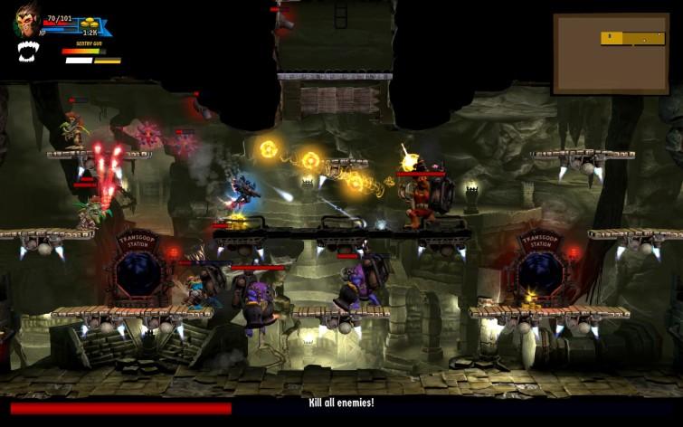 Screenshot 2 - Rogue Stormers 4-Pack