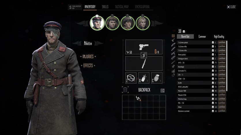 Screenshot 4 - Partisans 1941 - Back Into Battle