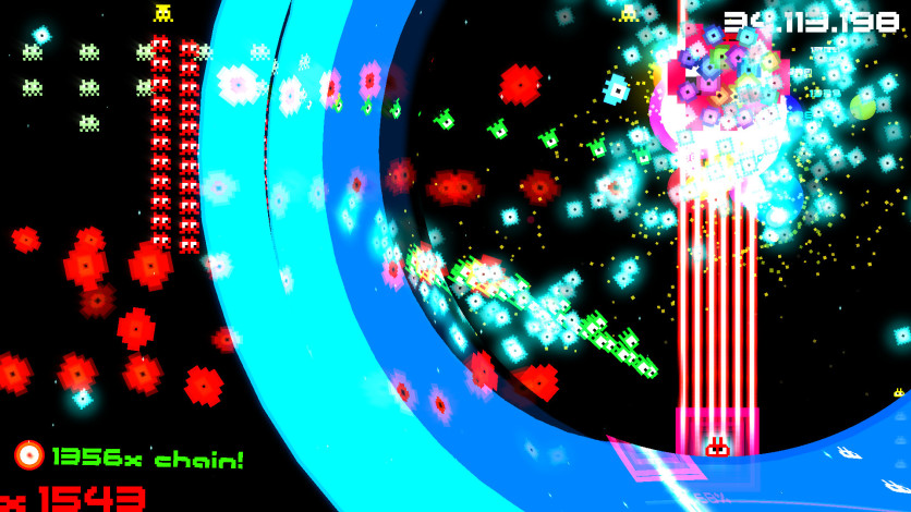 Screenshot 4 - Hyperspace Invaders II: Pixel Edition
