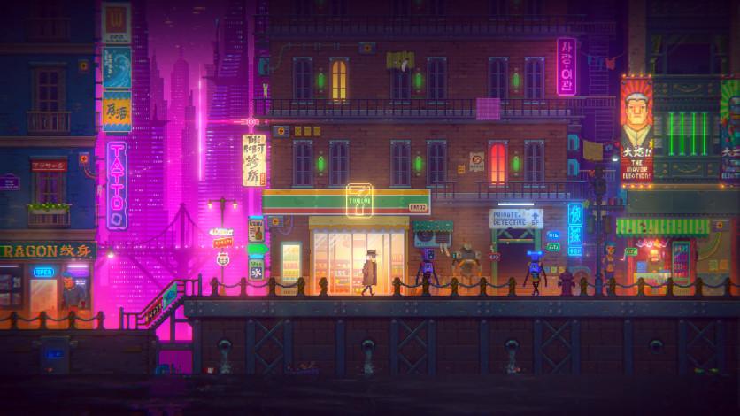 Screenshot 4 - Tales of the Neon Sea