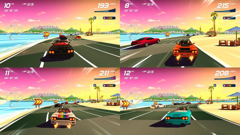 Screenshot 5 - Horizon Chase Turbo - Summer Vibes