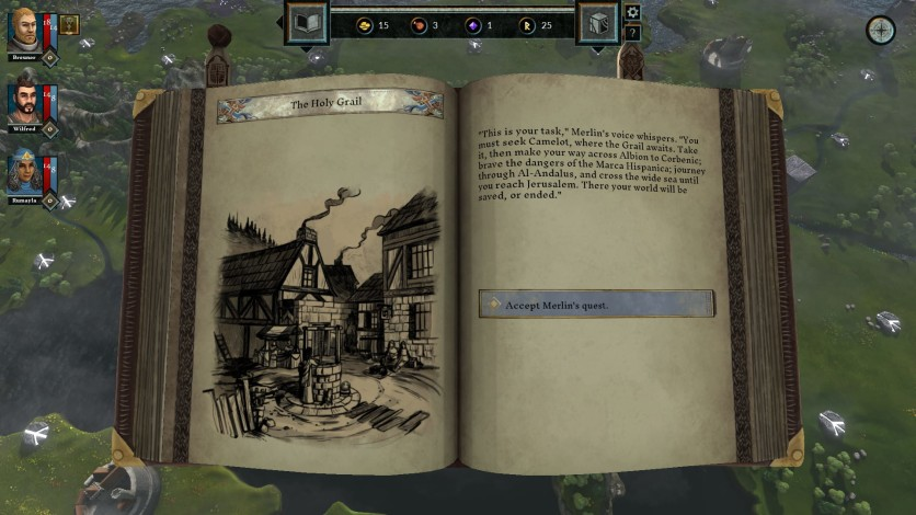 Screenshot 6 - The Hand of Merlin Deluxe Edition