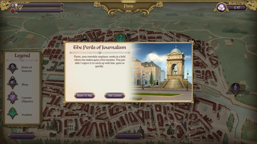 Screenshot 4 - Ambition: A Minuet in Power