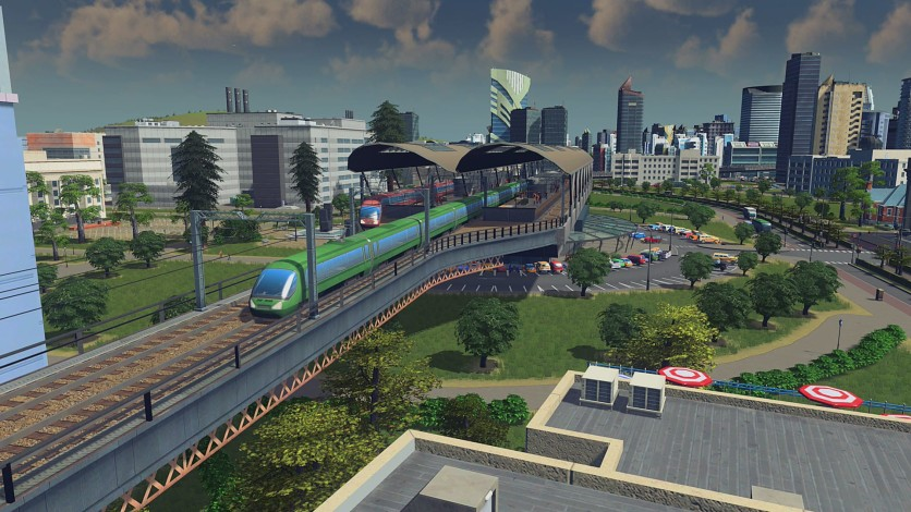 Screenshot 8 - Cities: Skylines - Content Creator Pack: Train Stations