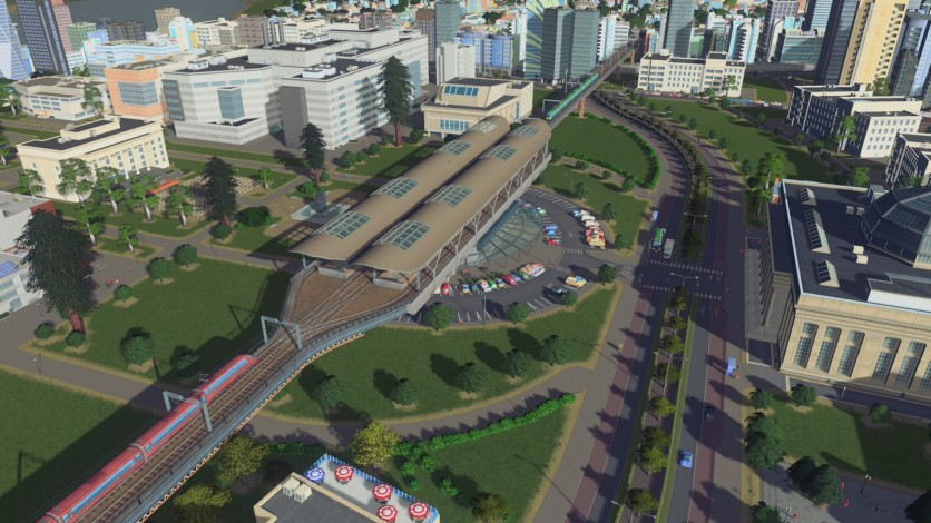 Screenshot 4 - Cities: Skylines - Content Creator Pack: Train Stations
