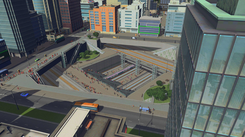 Screenshot 6 - Cities: Skylines - Content Creator Pack: Train Stations