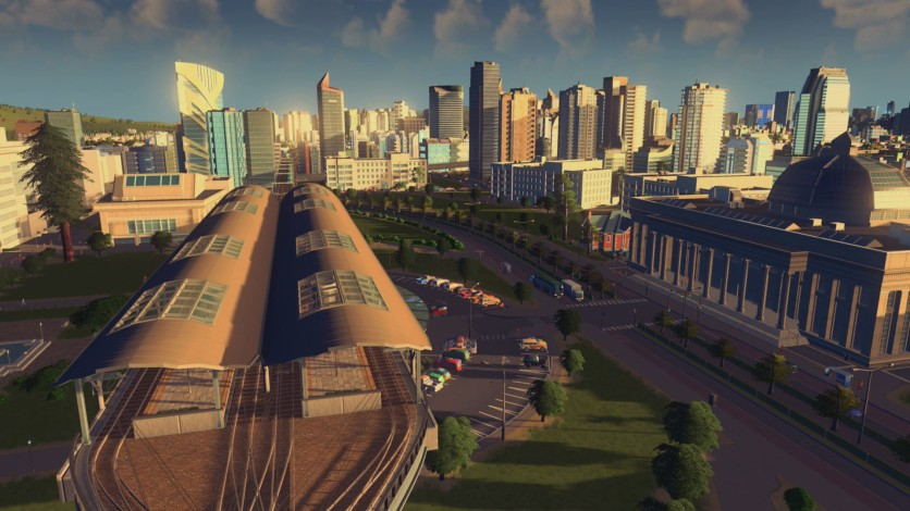 Screenshot 2 - Cities: Skylines - Content Creator Pack: Train Stations