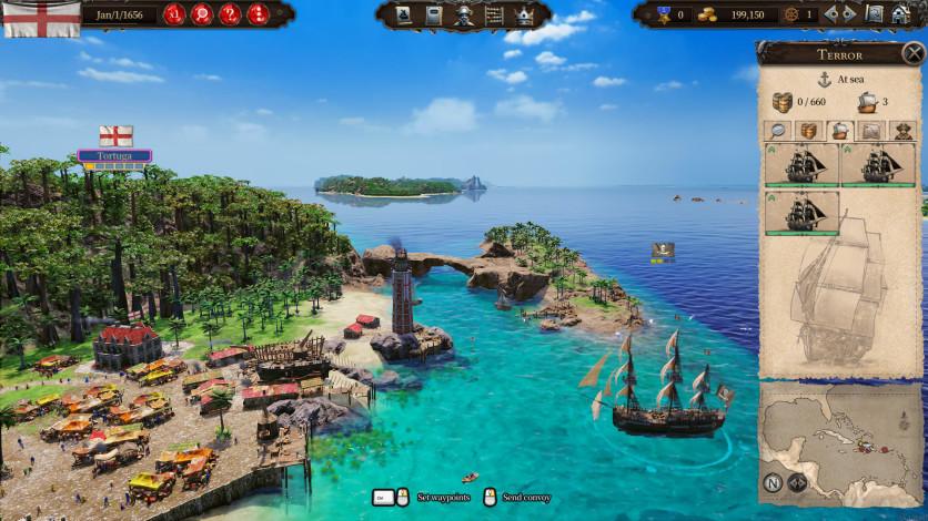 Screenshot 5 - Port Royale 4 - Buccaneers