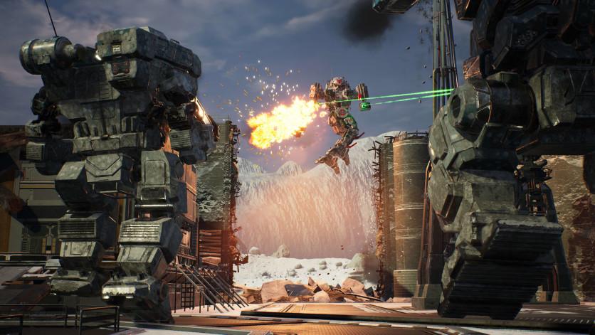 Screenshot 8 - MechWarrior 5: Mercenaries