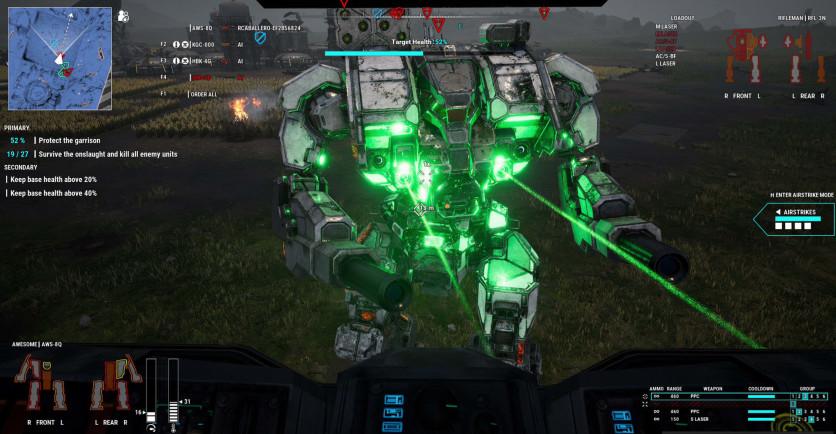 Screenshot 7 - MechWarrior 5: Mercenaries