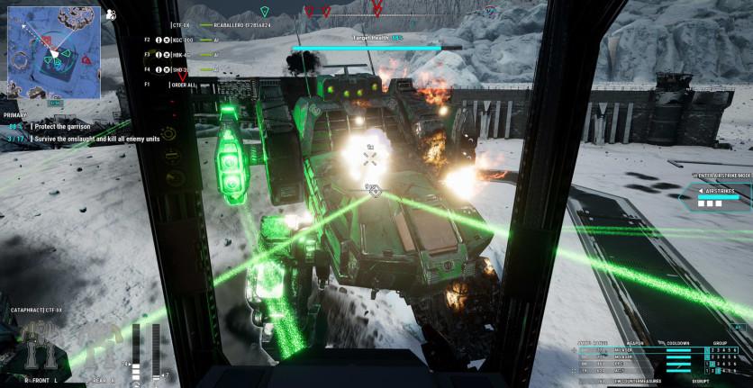 Screenshot 6 - MechWarrior 5: Mercenaries