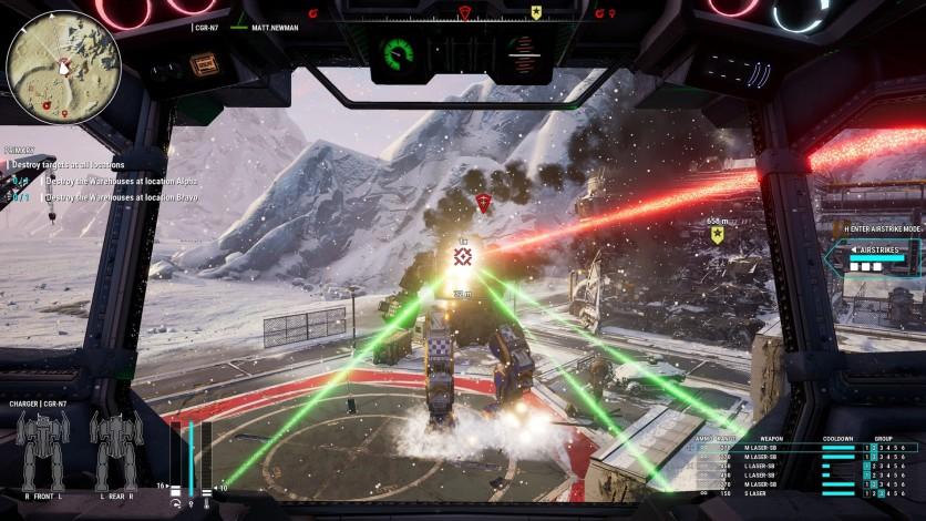 Screenshot 10 - MechWarrior 5: Mercenaries - Heroes of the Inner Sphere