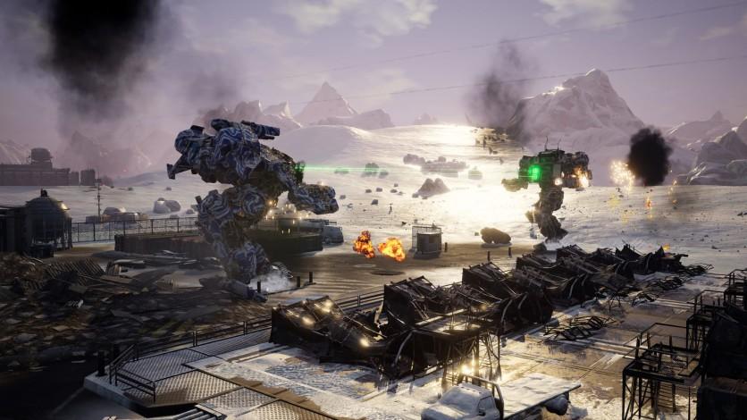 Screenshot 3 - MechWarrior 5: Mercenaries - Heroes of the Inner Sphere