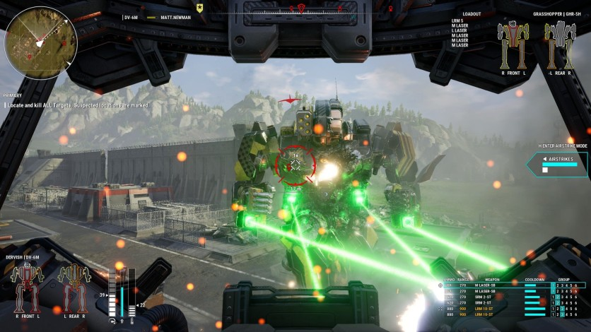 Screenshot 8 - MechWarrior 5: Mercenaries - Heroes of the Inner Sphere