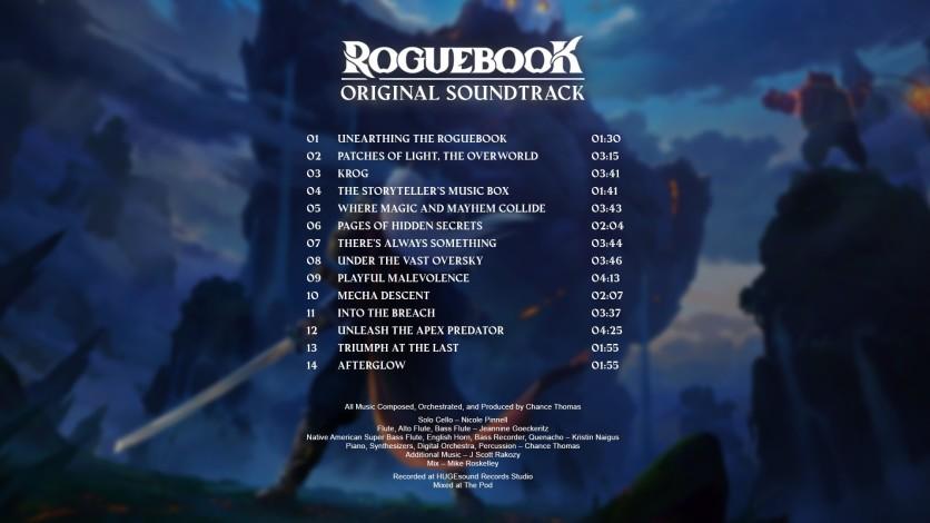 Screenshot 1 - Roguebook - Original Soundtrack
