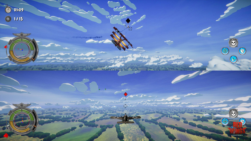 Screenshot 6 - Red Wings: Aces of the Sky