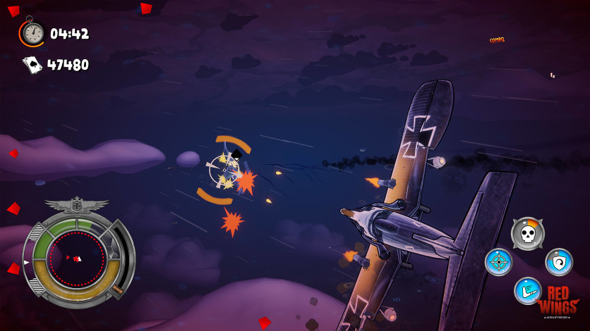 Screenshot 3 - Red Wings: Aces of the Sky