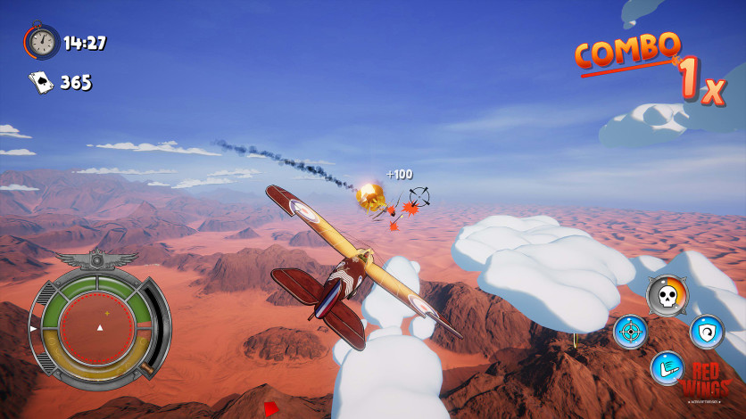 Screenshot 7 - Red Wings: Aces of the Sky
