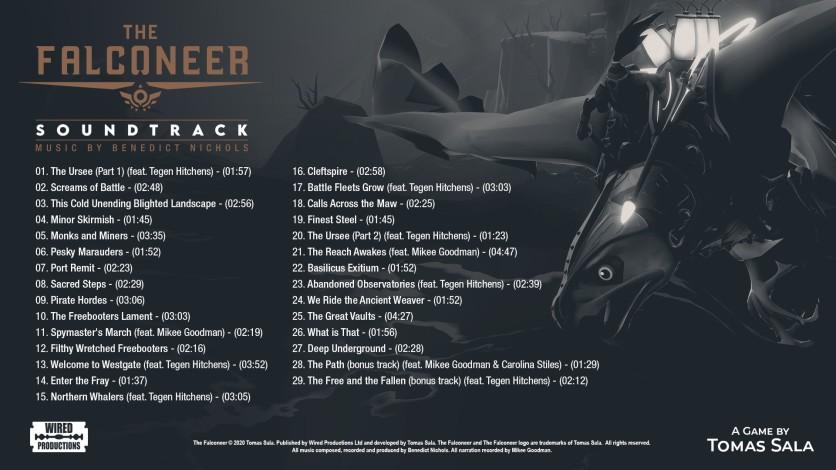 Screenshot 1 - The Falconeer - Official Soundtrack