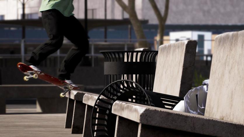 Screenshot 2 - Session: Skateboarding Sim Game