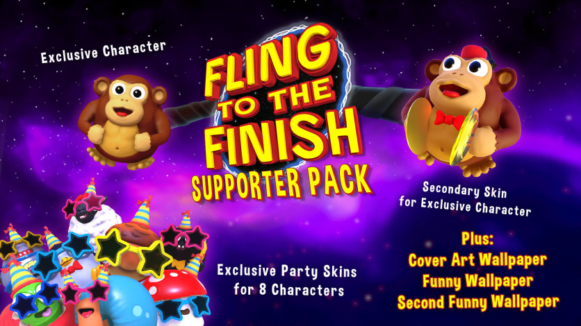 Screenshot 1 - Fling to the Finish - Supporter Pack
