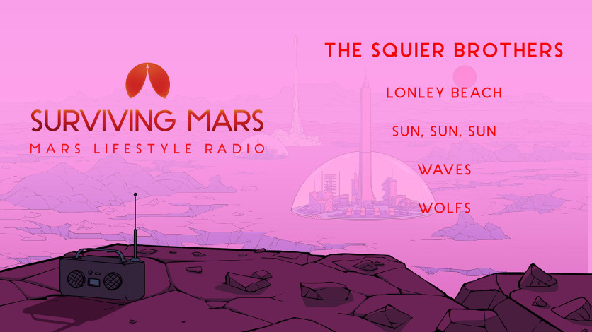 Screenshot 4 - Surviving Mars: Mars Lifestyle Radio