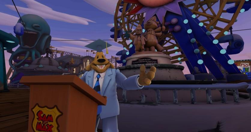 Screenshot 9 - Sam & Max: This time it's virtual!