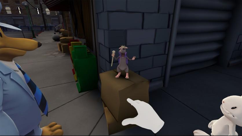 Screenshot 5 - Sam & Max: This time it's virtual!