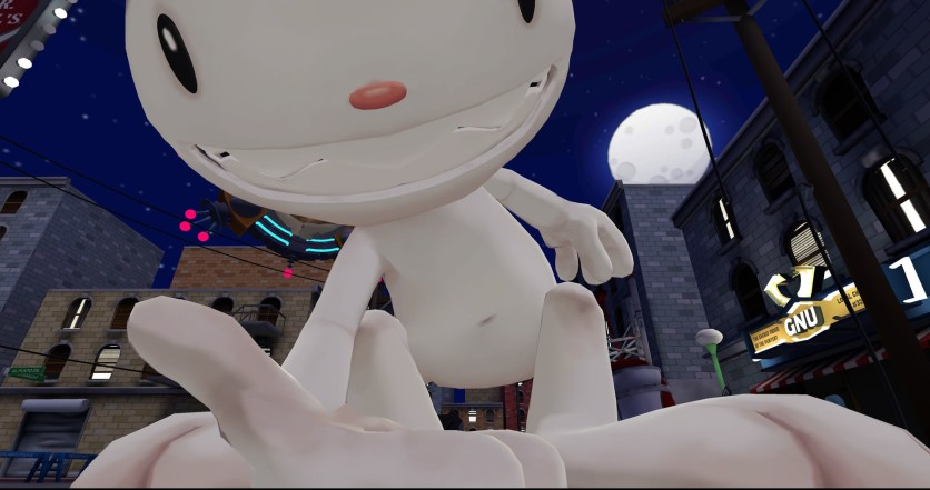 Screenshot 14 - Sam & Max: This time it's virtual!