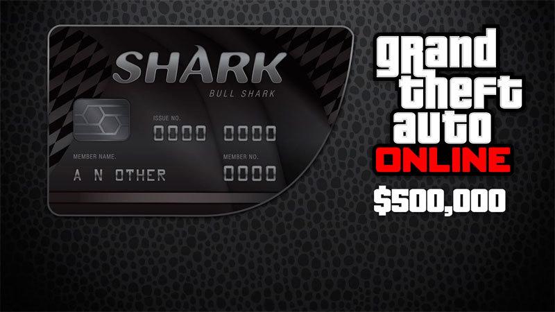 GTA Online: Bull Shark Cash Card - PC - Buy it at Nuuvem